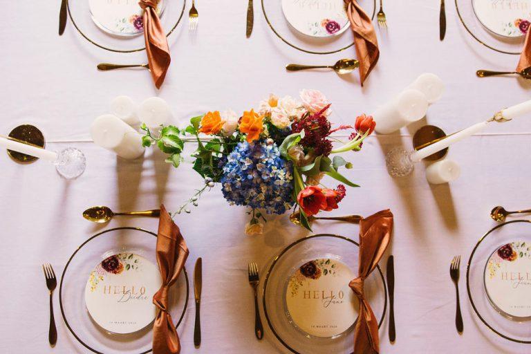 wedding florist cape town, tables decor, table flowers, wedding flowers; budget