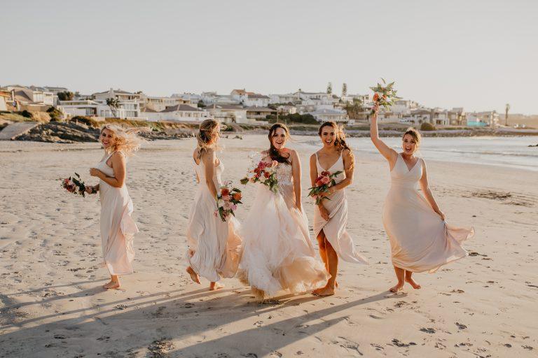 ladybloom, bridesmaids, wedding flowers, weddings western cape, wedding florist